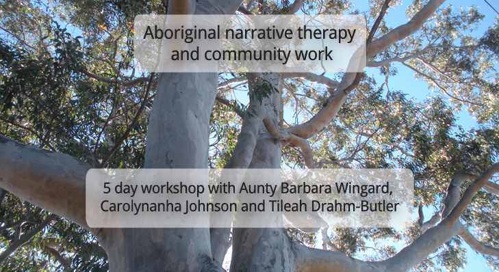 Aboriginal narrative workshop